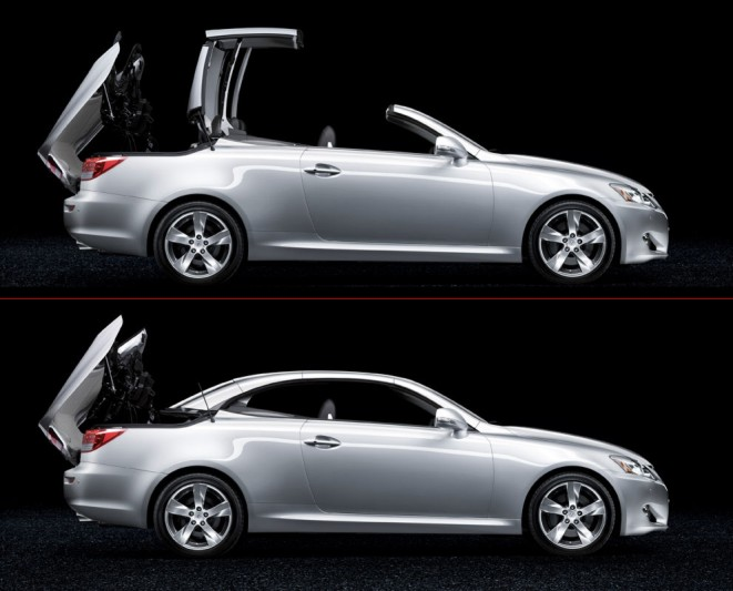 On sale throughout Europe in the summer of 2009, the new Lexus IS 250C