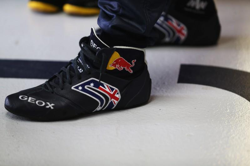 Red Bull F1 driver Mark Webber