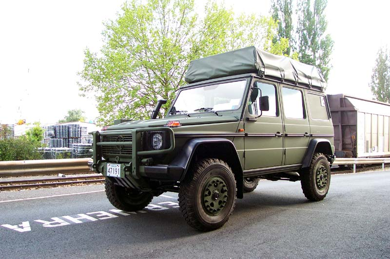 mercedes g class 30 years anniversary but no celebrations. Black Bedroom Furniture Sets. Home Design Ideas